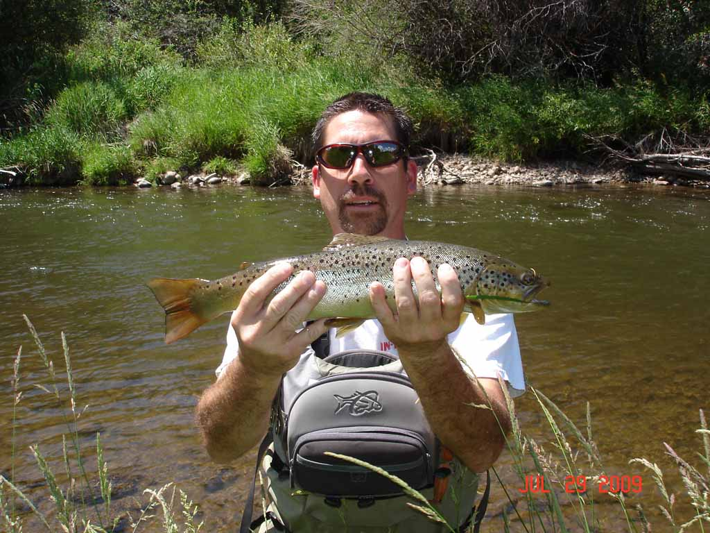 July 2009 for Weber river fishing report